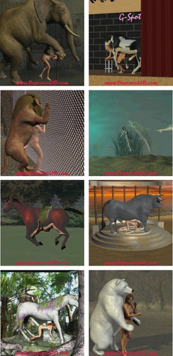 Animal and Beast Videos Depraved 3D Collection
