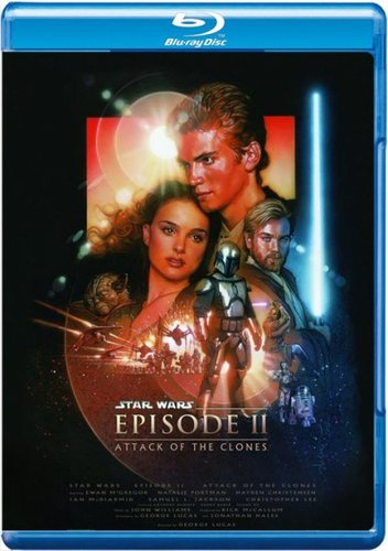 Star Wars: Episode II – Attack of the Clones (2002) BRRip 720p Dual Audio Hindi Dubbed