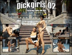 Free Download 3D Adult Comics  Candy and Dina - Dickgirls02